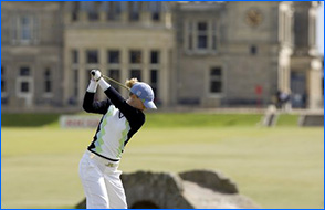 Sally Watson golf St Andrews