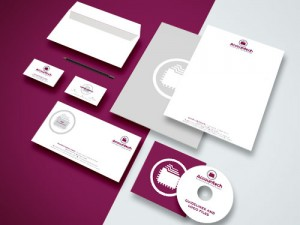 Logo and stationery for an accountant