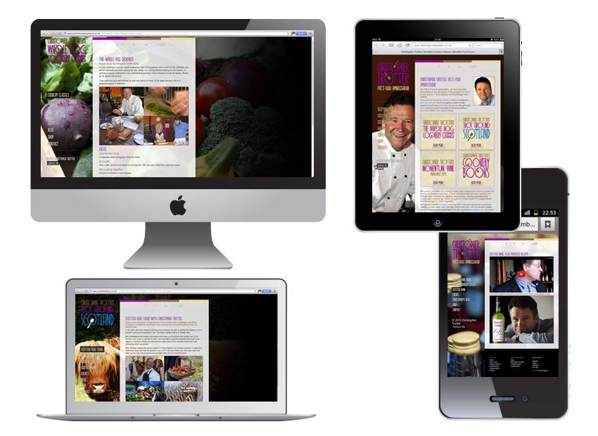 Website design Edinburgh Scotland