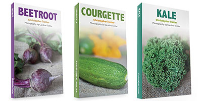 Courgette and beetroot books