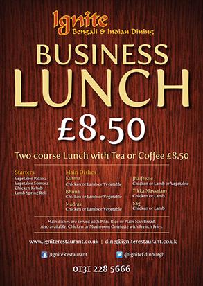 Edinburgh restaurant marketing and promotion
