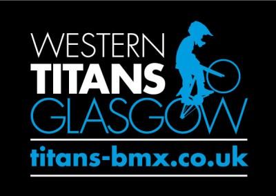 Western Titans BMX Racing Club identity, website, social media and print