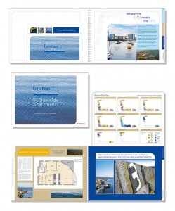Housing development brochure Edinburgh